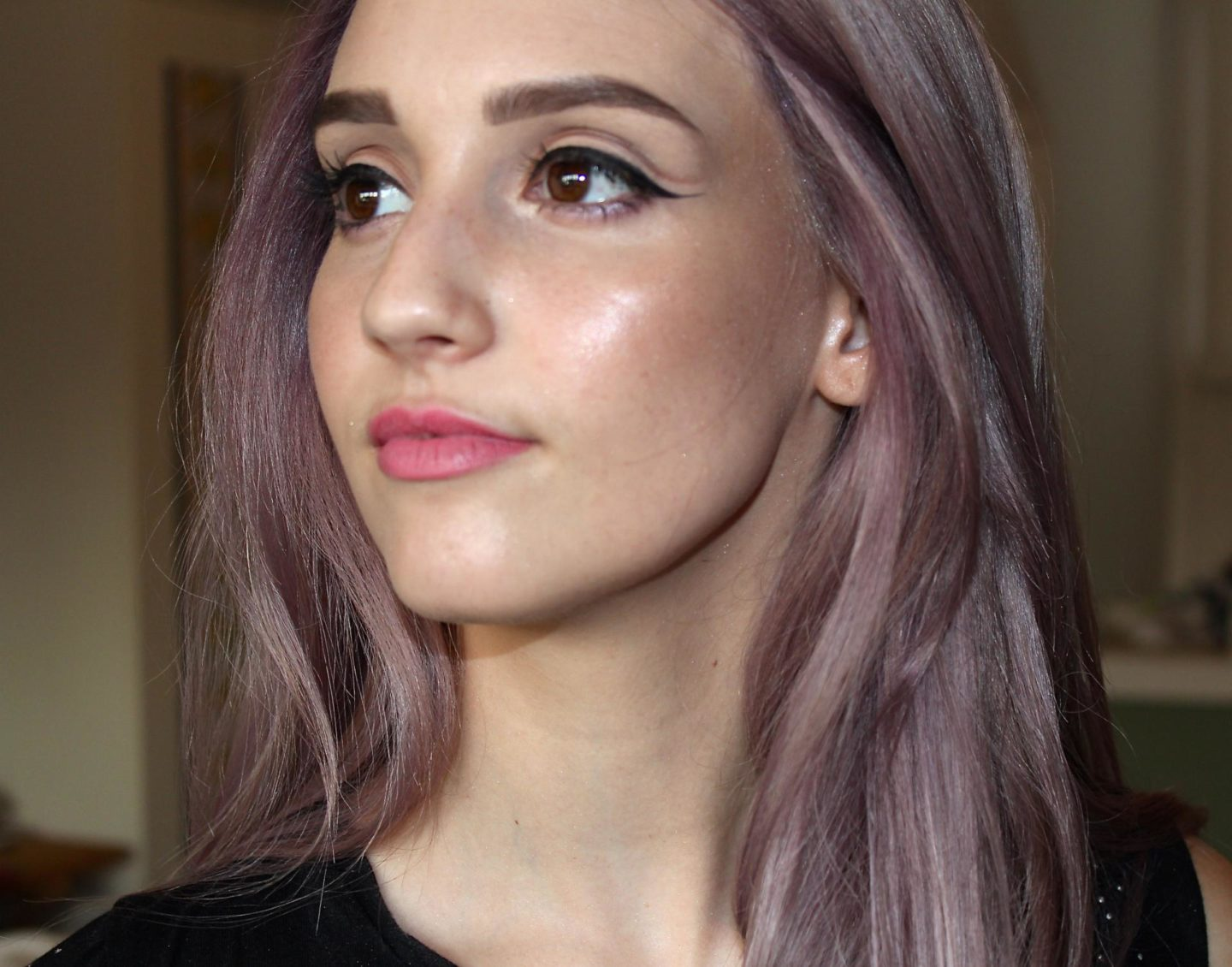 Let's Do Make-Up… With Purple Hair!